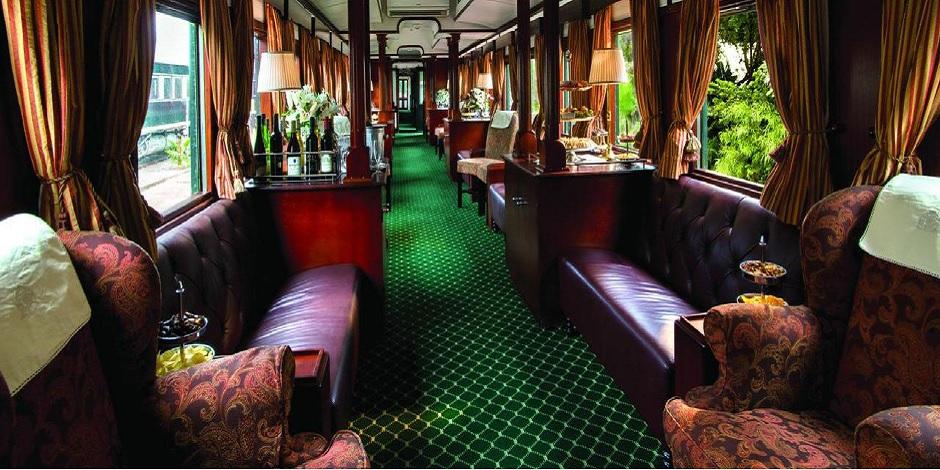Voiture salon du Train Rovos