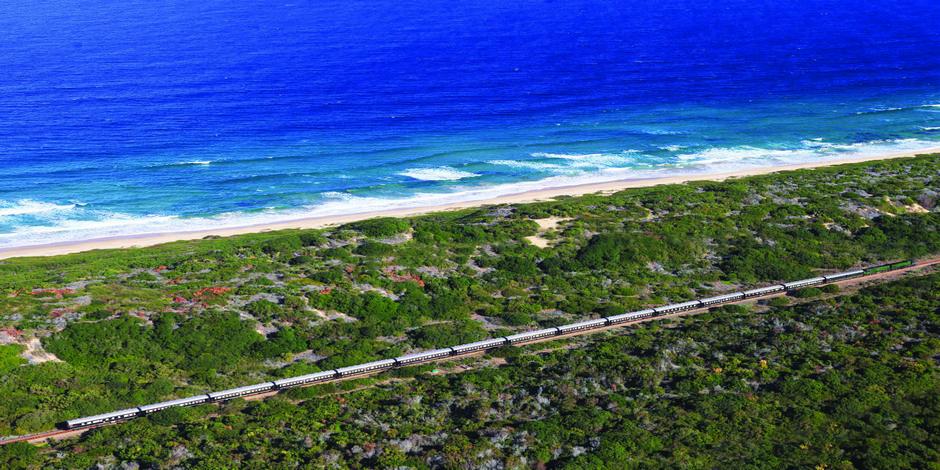 Train Rovos longeant la Mer en Afrique du Sud