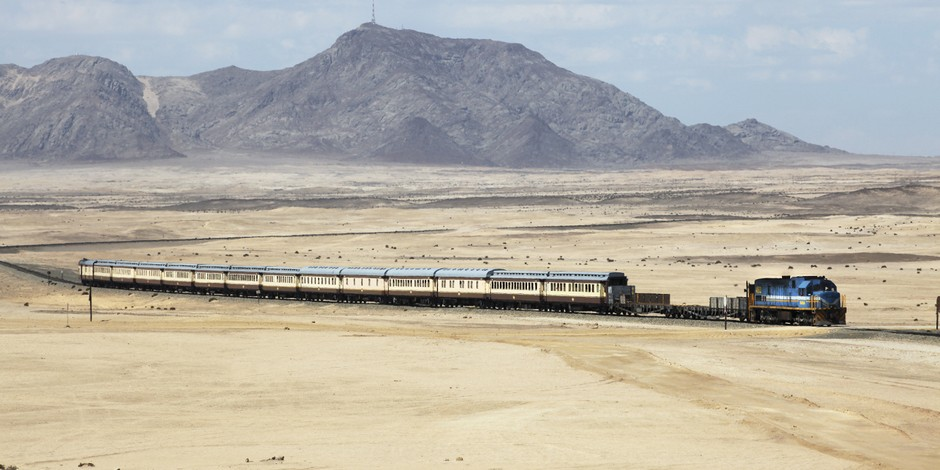 Train African Explorer en route vers Swakopmund