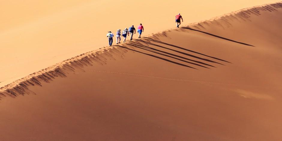 Trekking dans les Dunes de Sossusvlei