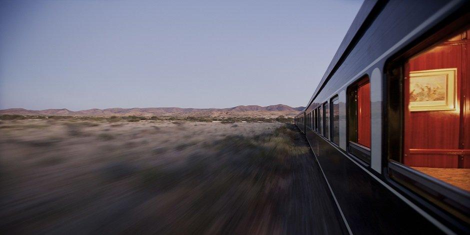 Train Rovos en Namibie