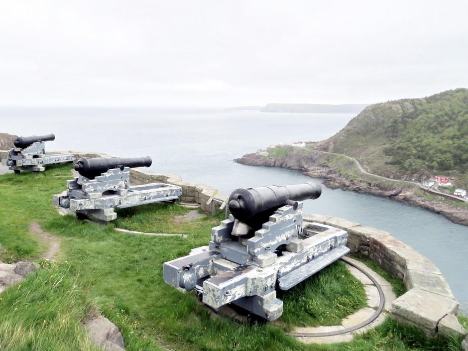 Canons à Signal Hill