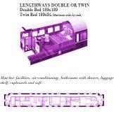 Plan Deluxe Suite du Train Rovos