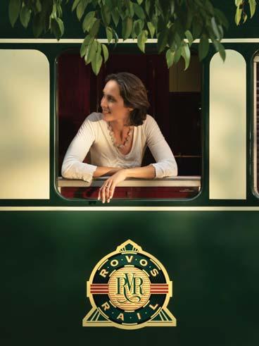 Femme à la fenêtre du Train Rovos