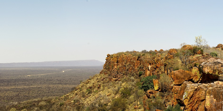 Vue panoramique de Waterberg