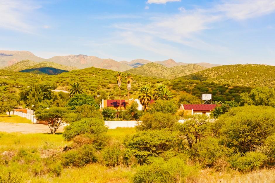Paysage près de Windhoek