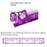 Plan Pullman Suite du Train Rovos