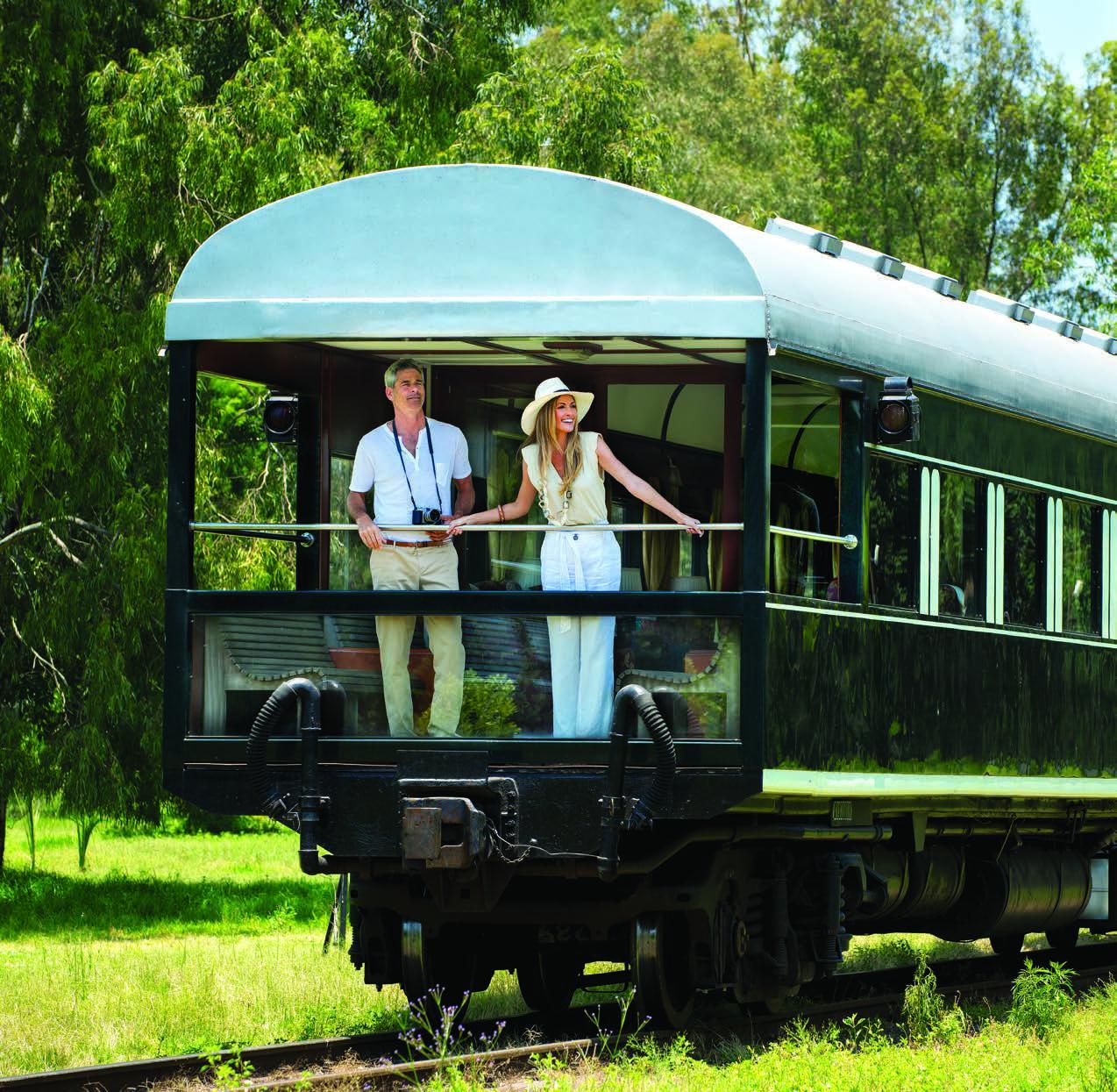 Voiture observation du Train Rovos