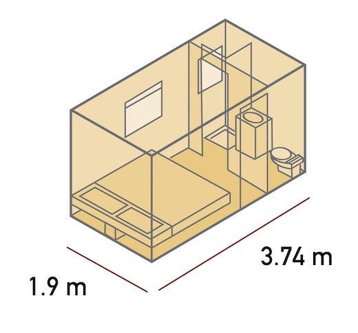 Plan de cabine