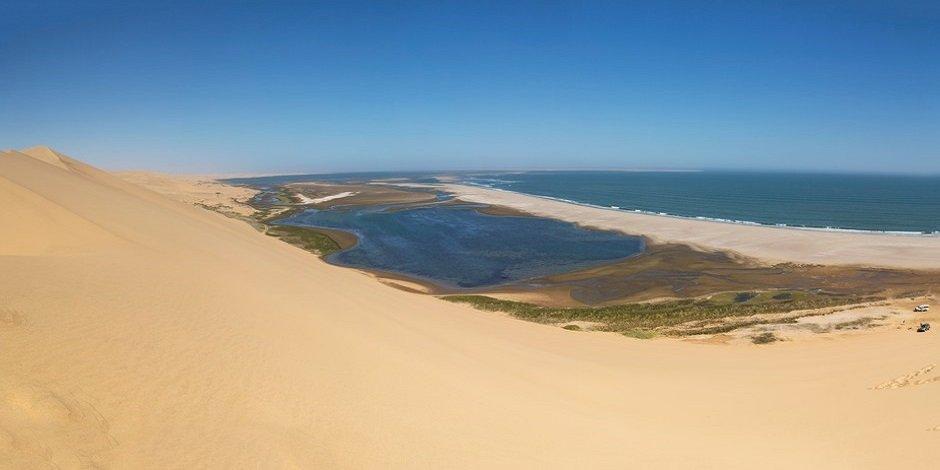 Dunes de Sandwich Harbour Walvis Bay