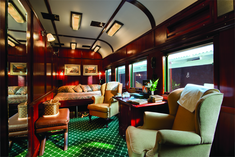 Suite Royale Train Rovos