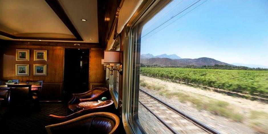Vue sur le paysage sud africain
