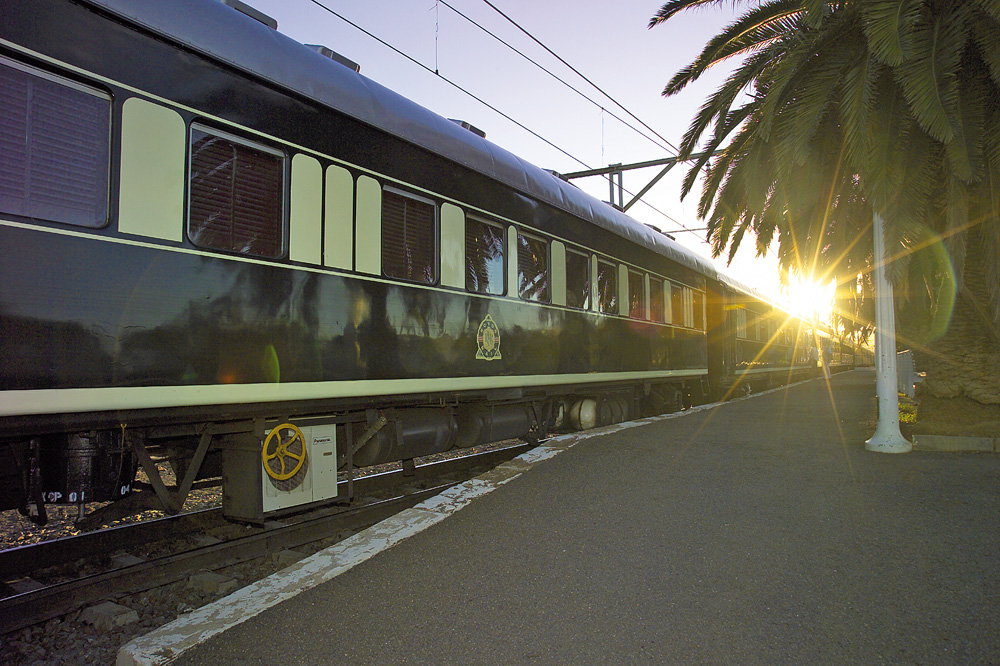 Le Train à quai