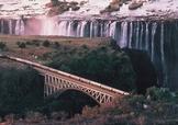 Train Rovos au bord des chutes Victoria