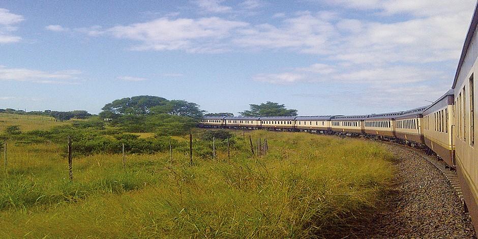 Train en route