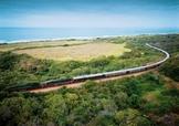 Train Shongolo Express au bord de mer