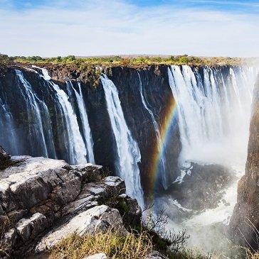 Victoria Falls au Zimbabwe avec le train African Explorer