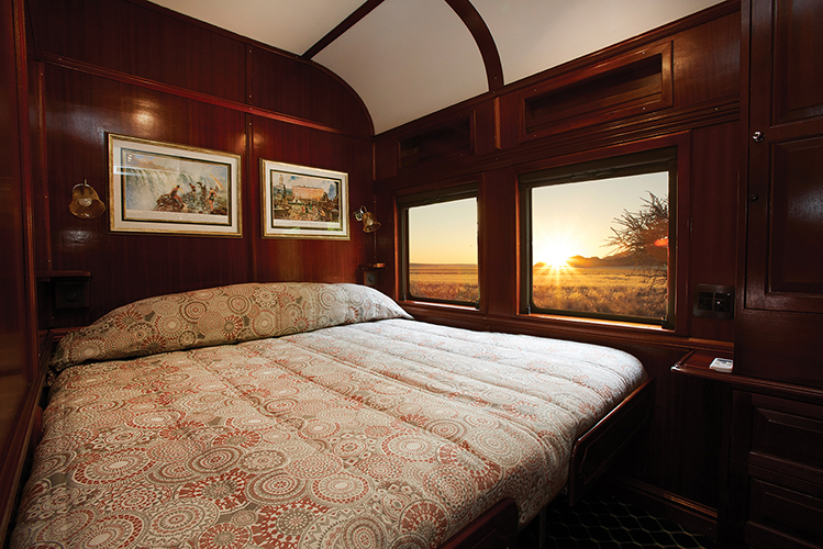 Cabine Or (Gold) du Train Shongololo Express
