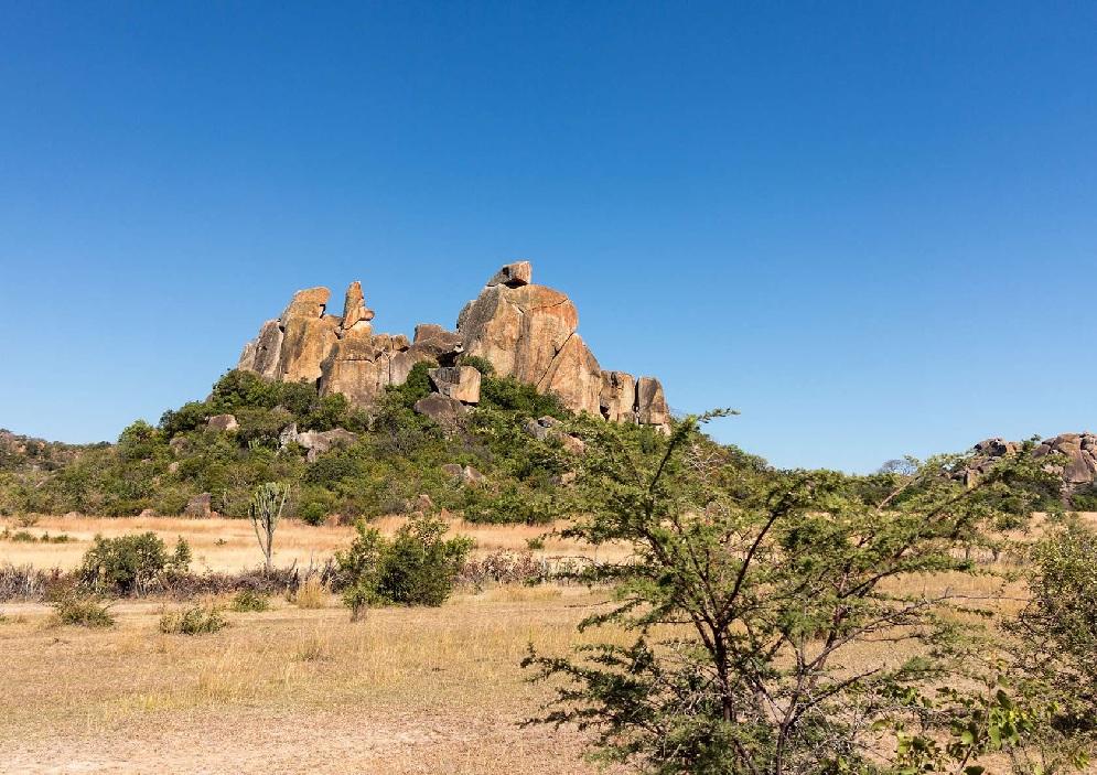 Le Balancing Rock de Matobo