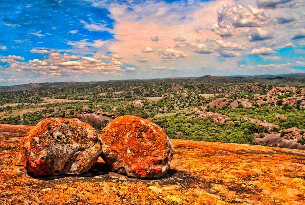 Paysages superbes de Matobo