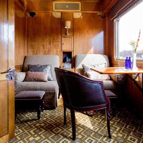 Suite deluxe du Train Bleu