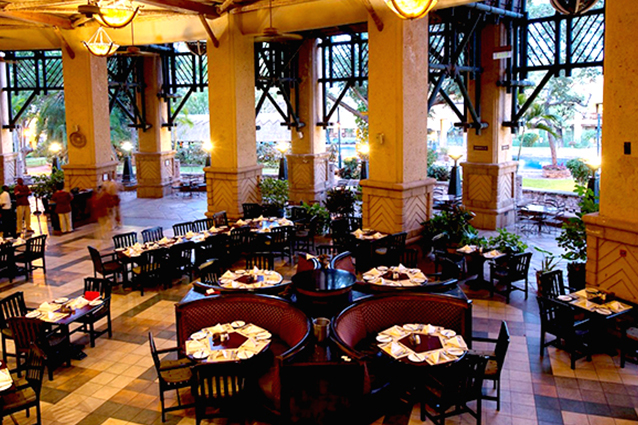 Restaurant du The Kingdom Hotel