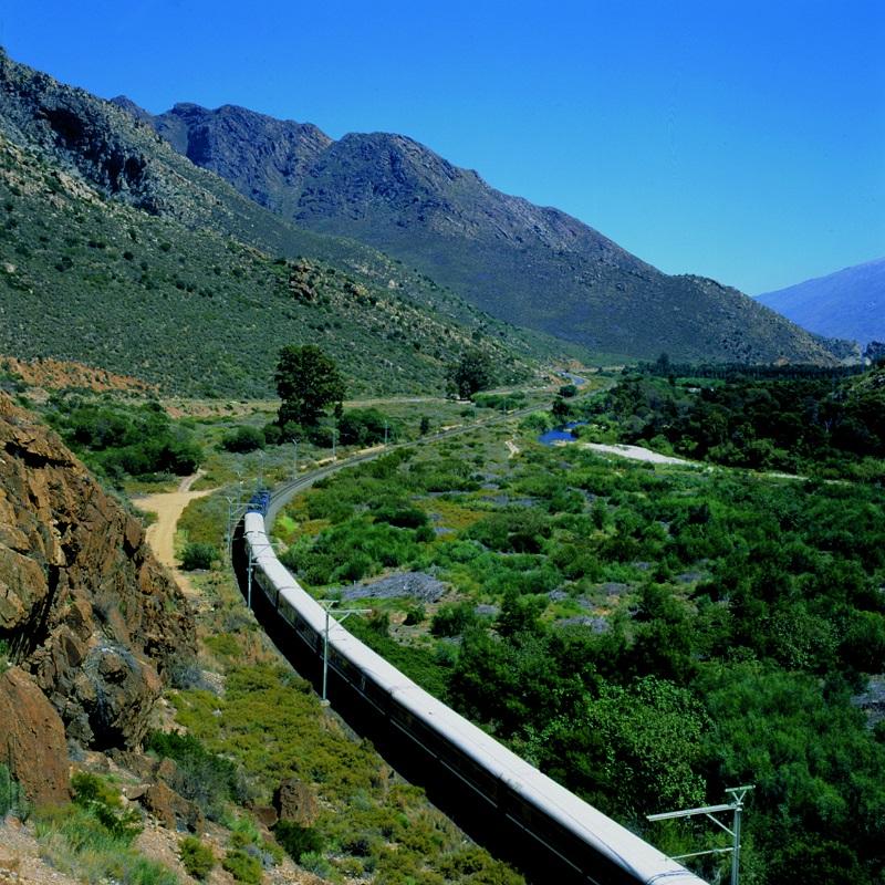 Chambre Twin du Train Bleu en Afrique du Sud